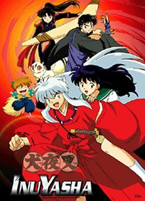 *NEW* InuYasha: Heroes Group Fabric Poster by GE Animation