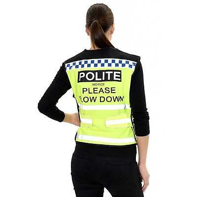 Equisafety Polite Waistcoat- Please Slow down