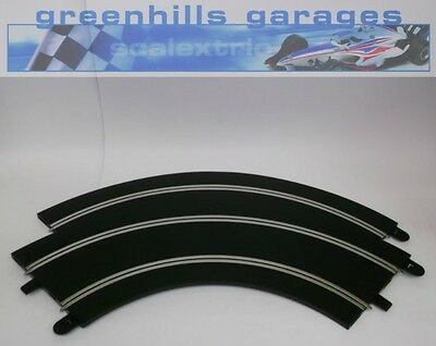 Greenhills Scalextric Sport Track Long 90 Degree Curve C8529 Pair - Brand New MT