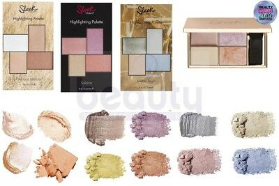 Sleek MakeUP - Highlighting Palette Shimmer Powder Cream Highlighter- ALL SHADES