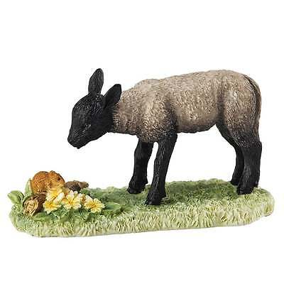 Border Fine Arts James Herriot Spring Encounter Black Lamb Figurine New A27051