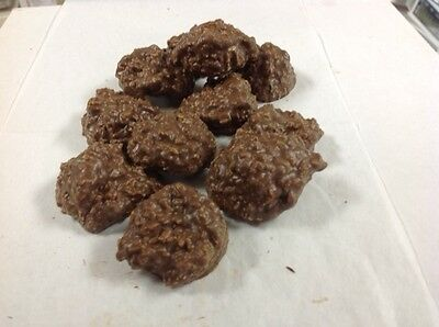 Asher's Sugar Free Coconut Clusters Milk Chocolate 1 pound
