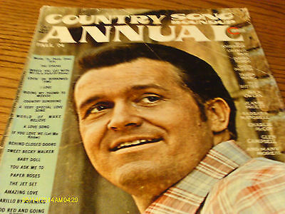 Bill Anderson Covers Country Song Roundup 1974 Fall Annual Dolly Parton