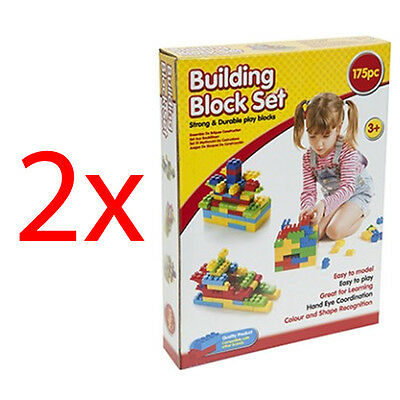 350Pc Building Blocks Toy Set Lego Construction Play Childrens Xmas Gift New