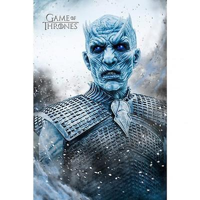 Official Licensed Product Game Of Thrones Poster Night King White Walker New 229