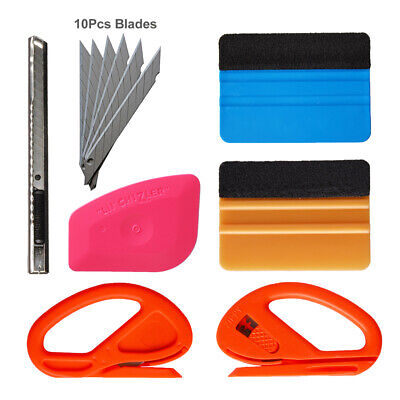 4Pcs 3M Squeegee Vinyl Wrapping Tool Kit Car Decals Styling Installing Tools