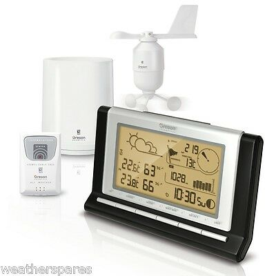Oregon Scientific WMR89 Full Weather Station with 7 day data logger and USB (UK)
