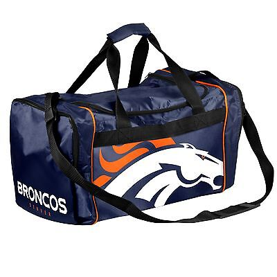 Denver Broncos Duffle Bag Gym Swimming Carry On Travel Luggage Tote NEW