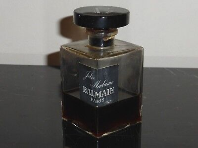 "Vintage Jolie Madame Pierre Balmain Perfume Bottle 4 Fl Oz 4"" Tall"