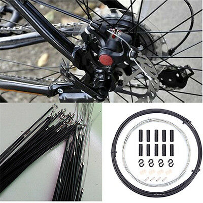Bike Brake Shifter Cable Housing Kit Set for Road Mountain Bicycle Cycling 2m