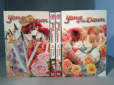 Yona of the Dawn manga volumes 1-2 paperback english new