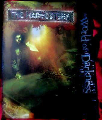 THE WORLD OF DARKNESS RPG - THE HARVESTERS Sourcebook