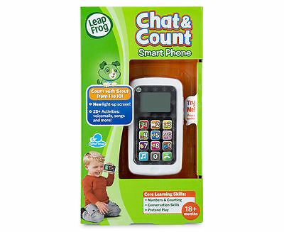 New Leap Frog Chat & Count Smart Phone 19145 Leapfrog