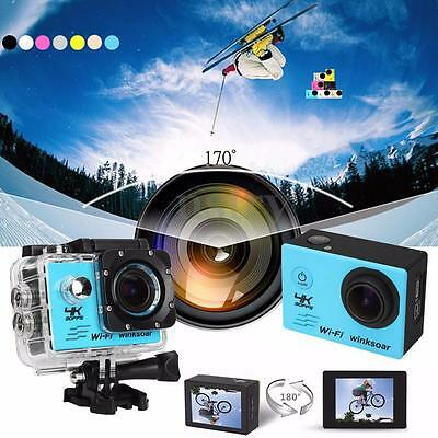 Waterproof SJ8000 1080P 16MP 4K WiFi 170° Sports Action Camera With Sony Sensor