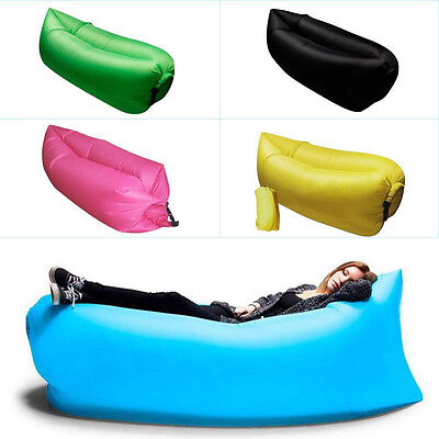 Air Lounger Easy Set-up Lightweight Sofa Bed Inflatable Waterproof Camping Chair