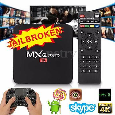 MXQ Pro S905X Smart TV BOX Fully Loaded 4K Android 5.1 Quad Core Media Player