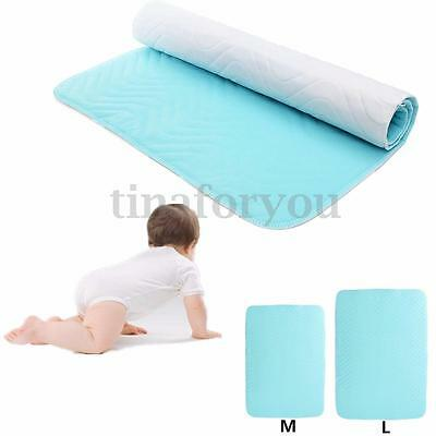 Super Absorbent Washable Reusable Incontinent Underpad Infant Baby Bed Urine Pad