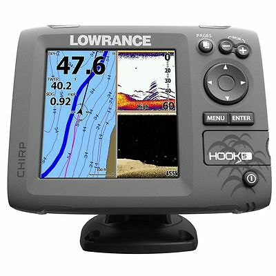 Lowrance Eco/GPS Hook-5 senza Trasduttore #62120181