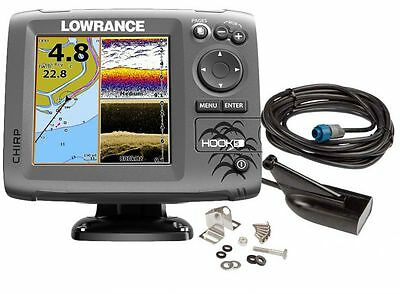 Lowrance Eco/GPS Hook-5 con trasduttore Downscan HDI 83/200kHz #62120182
