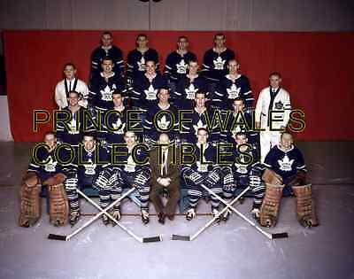 1959 Toronto Maple Leafs Team Photo 8X10