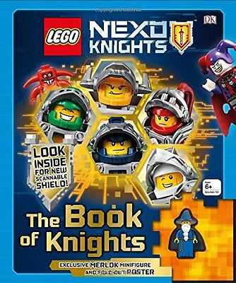 LEGO NEXO KNIGHTS The Book of Knights - Hardcover - Brand New