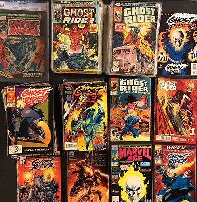 GHOST RIDER #1 - 81 CGC HUGE lot 211 Comics Blaze Ketch Complete+ 1st app 2nd VF