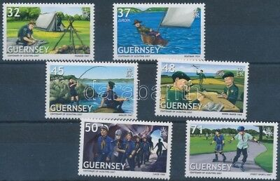 Great Britain-Guernsey stamp Europa CEPT:Scouts set 2007 MNH WS209661