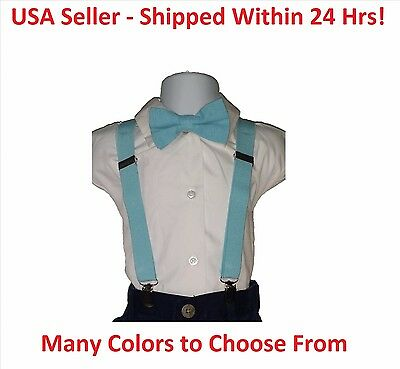 Boys Suspender / Bow Tie - High Quality **BUY 1, GET 1 50% OFF** 24 hr shipping!