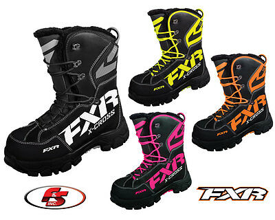 2017 FXR XCross Boot Snowmobile ATV Boots 6 7 8 9 10 11 12 13 Snocross