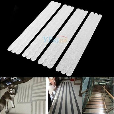 12 x Non-Slip Safety Applique Mat Safe Strips Stair Bath Shower Floor Stickers
