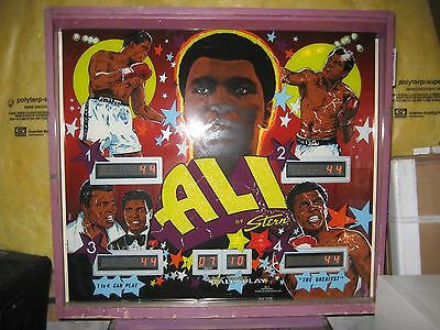 RARE collectible 1980 Stern Muhammad Ali pinball machine - Good working Cond