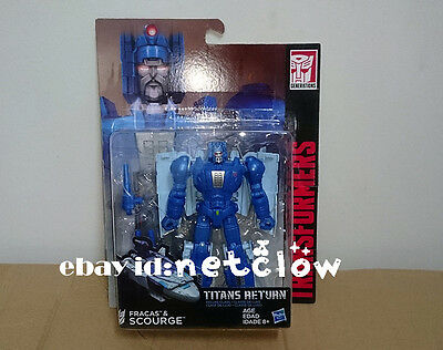 Transformers Hasbro Titans Return Deluxe Class SCOURGE in Stock