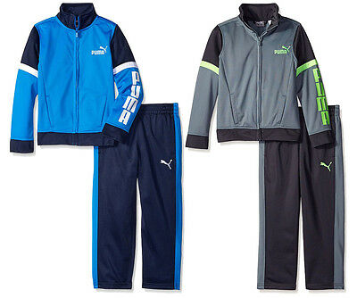 PUMA Toddlers / Kids Tricot Jacket and Pant Set, 2 Colors