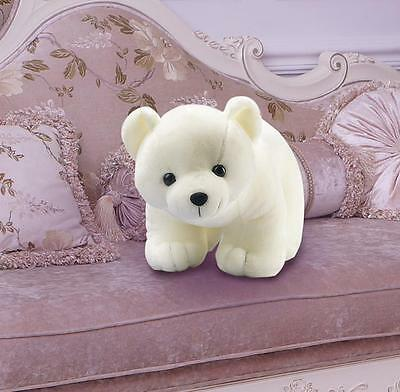 Lovely Polar Bear Plush Toys Kids Pillow Birthday Christmas Gifts 2016 Vintage