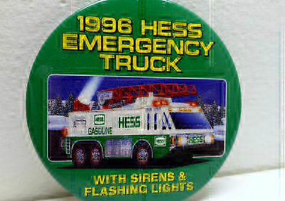 Hess 1996 Pin Emergency Truck Employee Advertising Badge