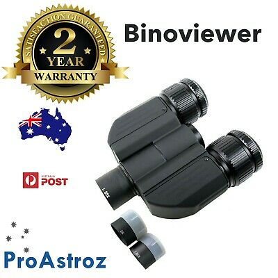 "1.25"" Binoviewer for telescope with case for 1.25"" eyepieces Bino viewer astro"