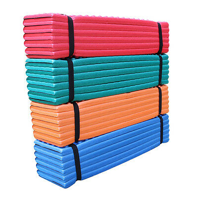 Folding Outdoor Picnic Camping Sleeping Mat Waterproof Double Egg Groove PVC Pad