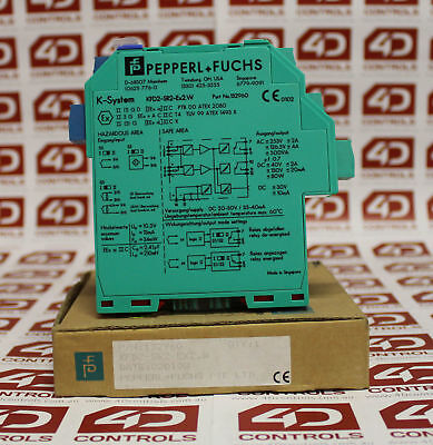 Pepperl and Fuchs KFD2-SR2-EX2.W Transformer Isolated Amplifier - New Surplus...