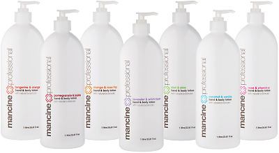 Mancine Hand & Body Lotion 1L - 7 Flavours