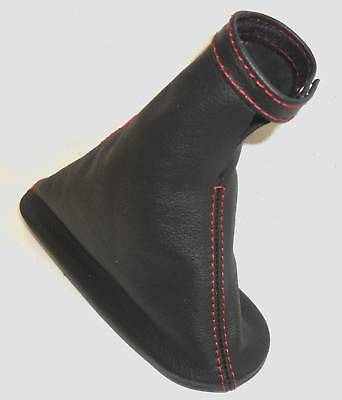 Fiat Punto Gt Turbo Sporting Handbrake Gaiter Black Leather