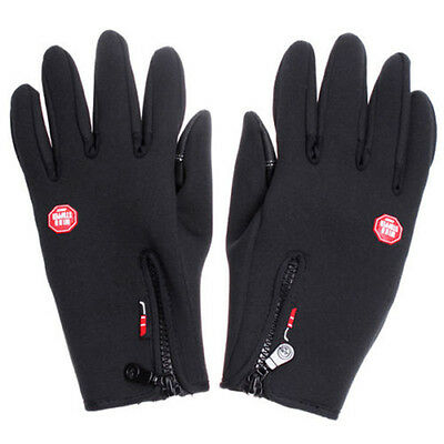 Outdoor Sports Cycling Hiking Motorcycle Windstopper Glove For Men Womens Winter
