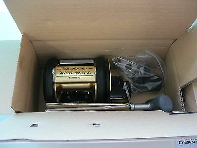 Shimano TLD 50A 50 A II Speed LRSA TLD50IILRSA Multiplier Reel Spinning
