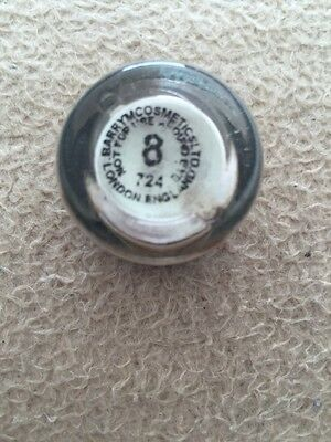 Barry M Fine Glitter Dust/body Glitter  No 8 Very Rare Free P+P