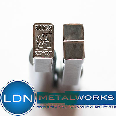 TDP5 Pill Stamp Punch Die Set for Tablet Press: RR 12.5mm x 7mm