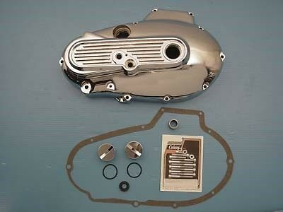 Alternator Chrome Primary Cover Kit, fits XL Sportster 1984-1985