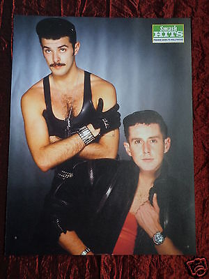 Frankie Goes To Hollywood - Pop Stars - 1 Page Picture - Clipping / Cutting