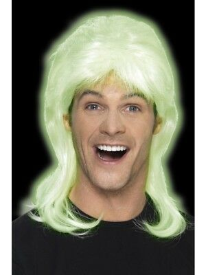 80'S Party Mullet Wig Smiffys Fancy Dress Costume