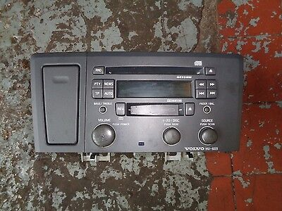 Volvo V70-Radio-Cd-Tape Player With Cup Holder 9452057-0