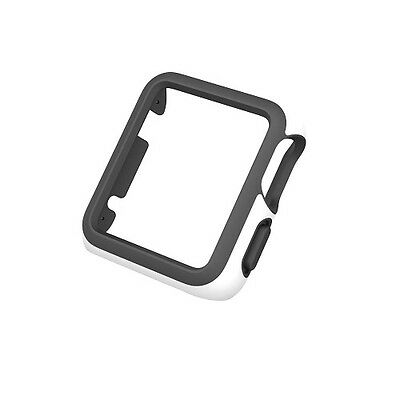 NEW Speck CandyShell Fit Case for Apple Watch 42mm, White/Black FREE SHIPPING