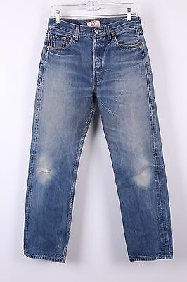 Vtg Levis 501 Buttonfly Boyfriend Mom High Waisted Jeans 29-31